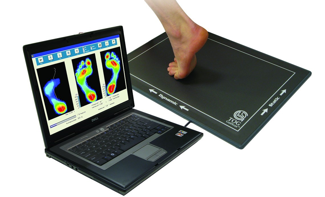 Image of the gait Scan equipment