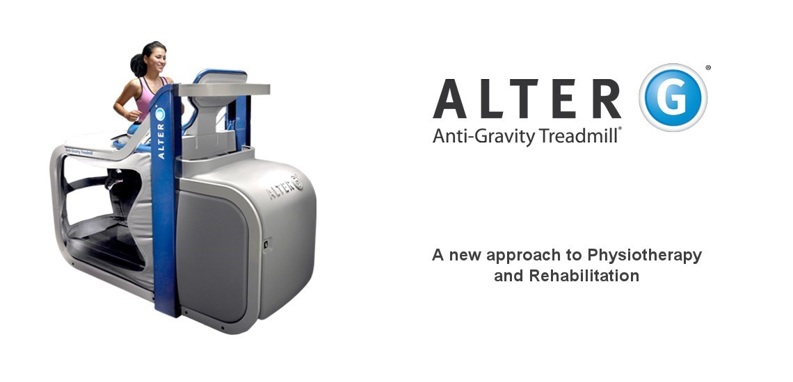 The Alter-G Anti-Gravity machine